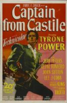 Captain from Castile 1947 DVD - Tyrone Power / Jean Peters